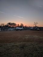 Sunrise at the base